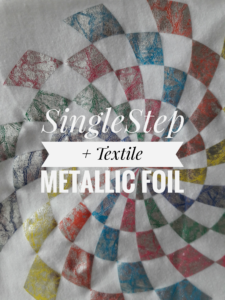 Heat Transfer Paper using Metallic Foil