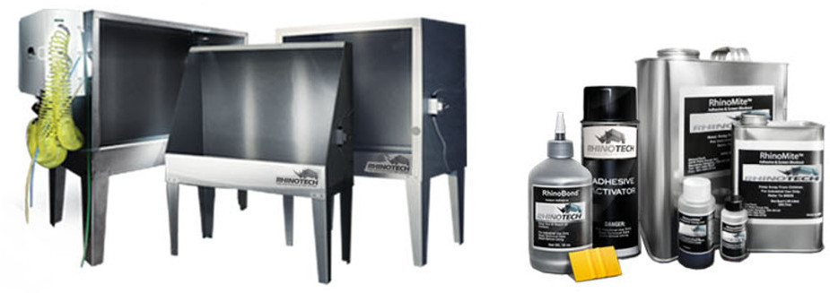 RhinoTech Screen Printing Equipment and Supplies