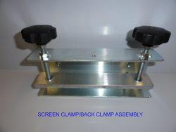 Screen Back Clamp, Image of Screen Back Clamp – Caps International