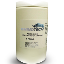 WhiteRhino Heat Transfer Adhesive, Image of WhiteRhino Heat Transfer Adhesive