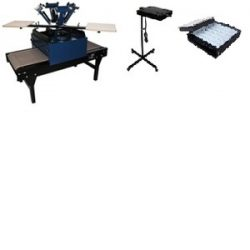 4 Color / 2 Station Space Saver Equipment Package, Image of 4 Color / 2 Station Space Saver Equipment Package