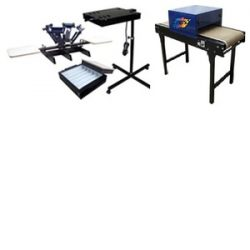 6 Color / 2 Station Pro T-Shirt Equipment Package, Image of 6 Color / 2 Station Pro T-Shirt Equipment Package