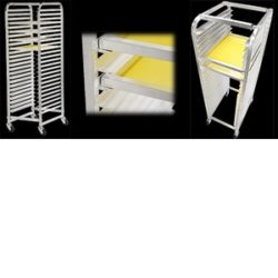 Rolling Screen Rack, Image of Rolling Screen Rack