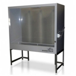 Washout Both, Image of Professional Washout Booth