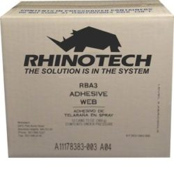 Adhesive Web Spray Case, Image of RhinoBond RBA3 Adhesive Web